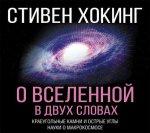 Стивен Хокинг - О Вселенной в двух словах. Краеугольные камни и острые углы науки о макрокосмосе (2018) MP3